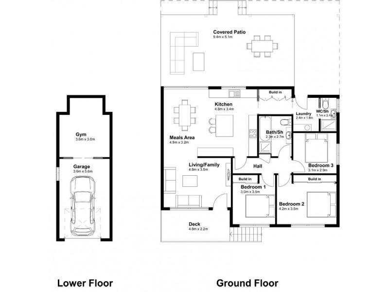 94 Lakin Street, Bateau Bay NSW 2261 Floorplan