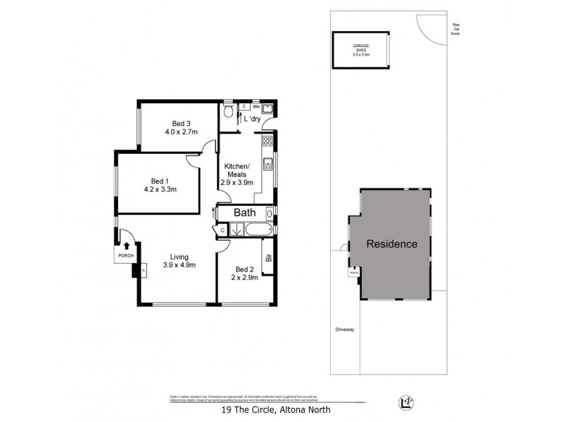 19 The Circle, Altona North VIC 3025 Floorplan