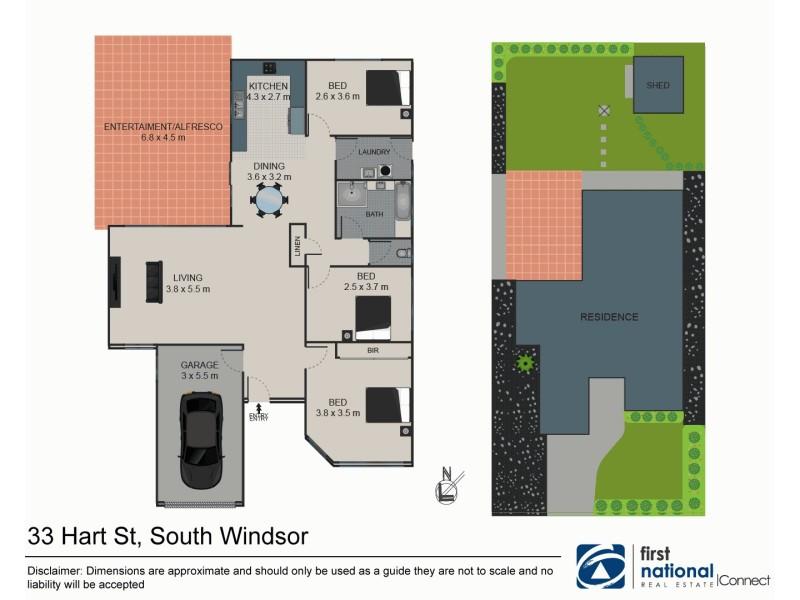 33 Hart Road, South Windsor NSW 2756 Floorplan