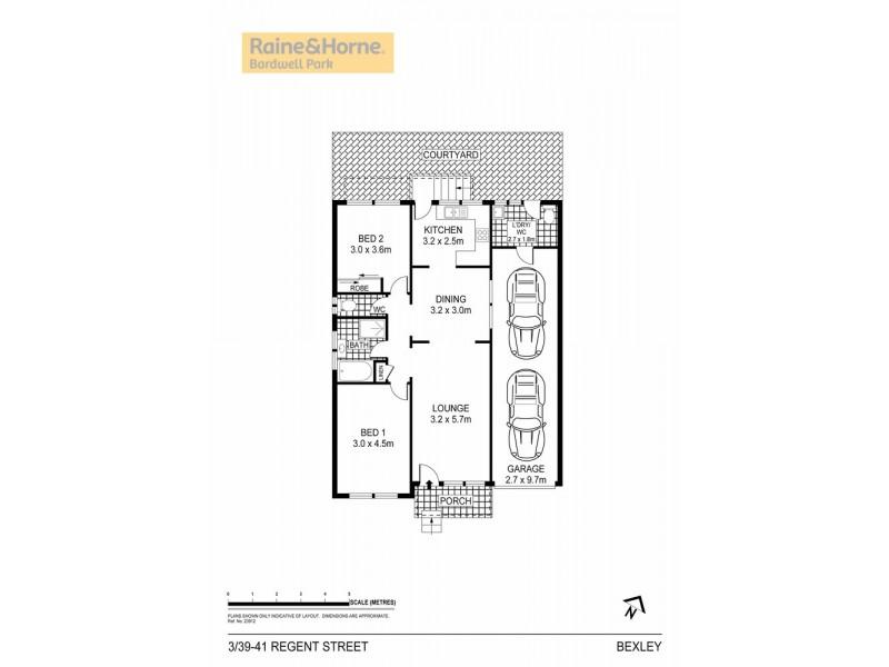 3/39-41 Regent Street, Bexley NSW 2207 Floorplan
