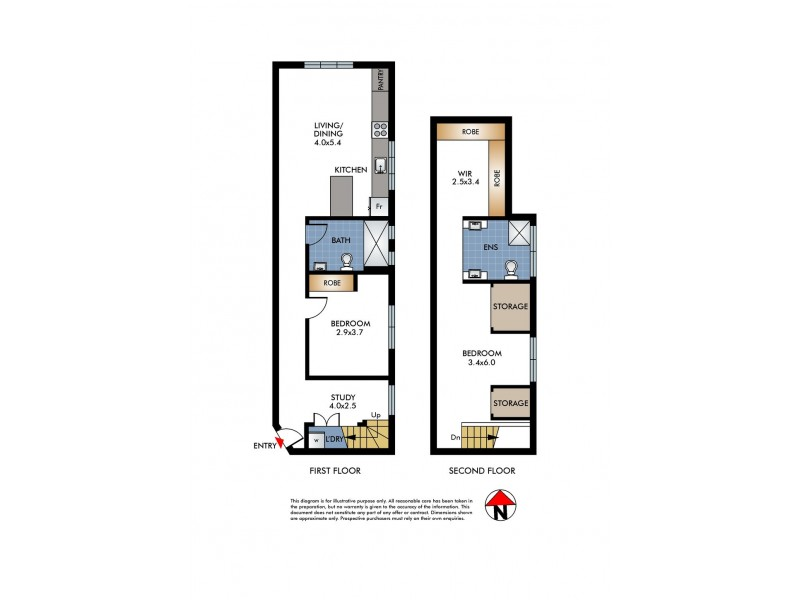 4/118 Bondi Road, Bondi NSW 2026 Floorplan