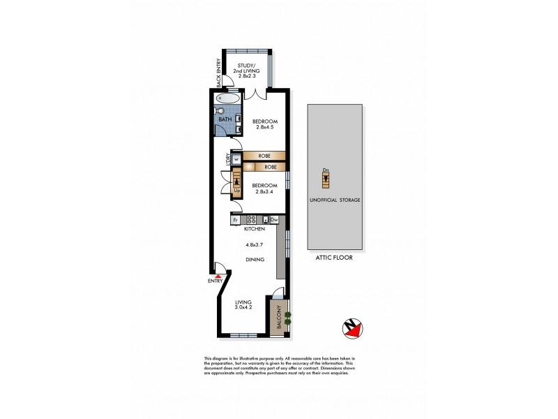 4/67 Roscoe Street, Bondi Beach NSW 2026 Floorplan