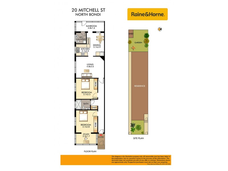 20 Mitchell Street, North Bondi NSW 2026 Floorplan