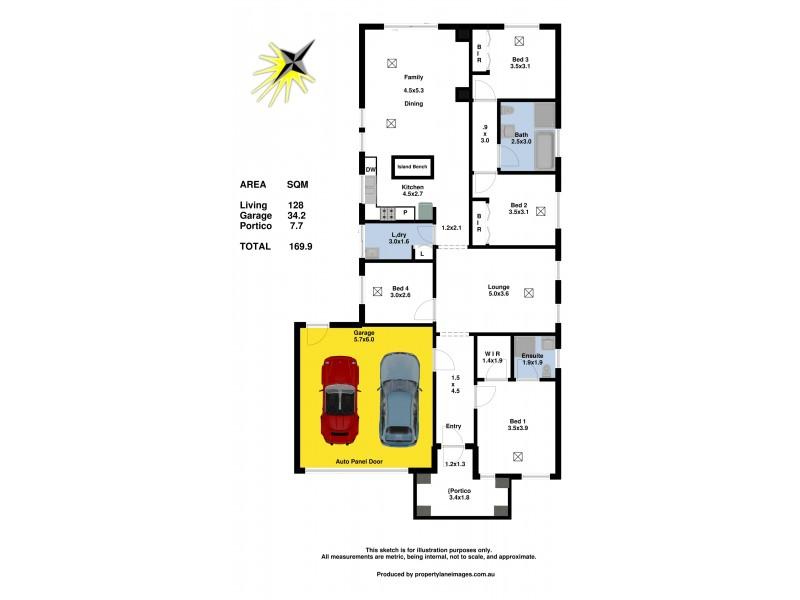 9 Huron Street, Andrews Farm SA 5114 Floorplan