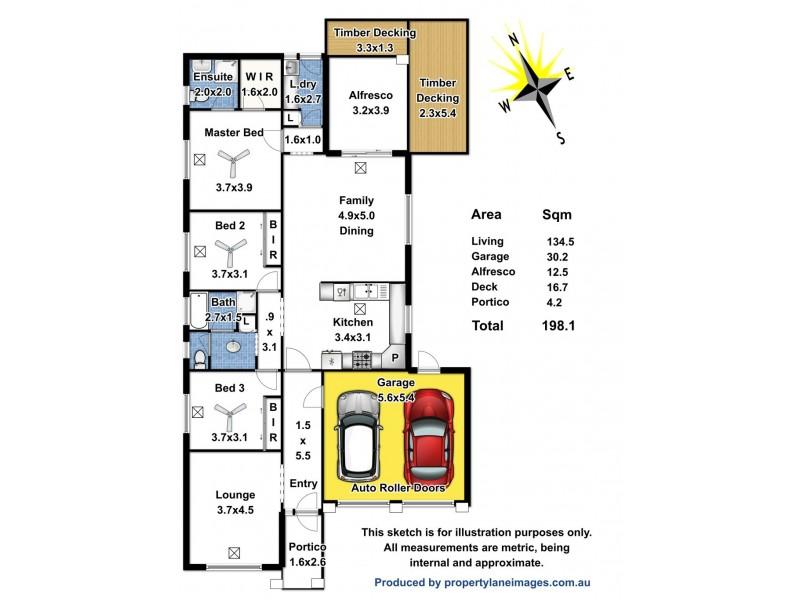 6 Coker Place, Blakeview SA 5114 Floorplan