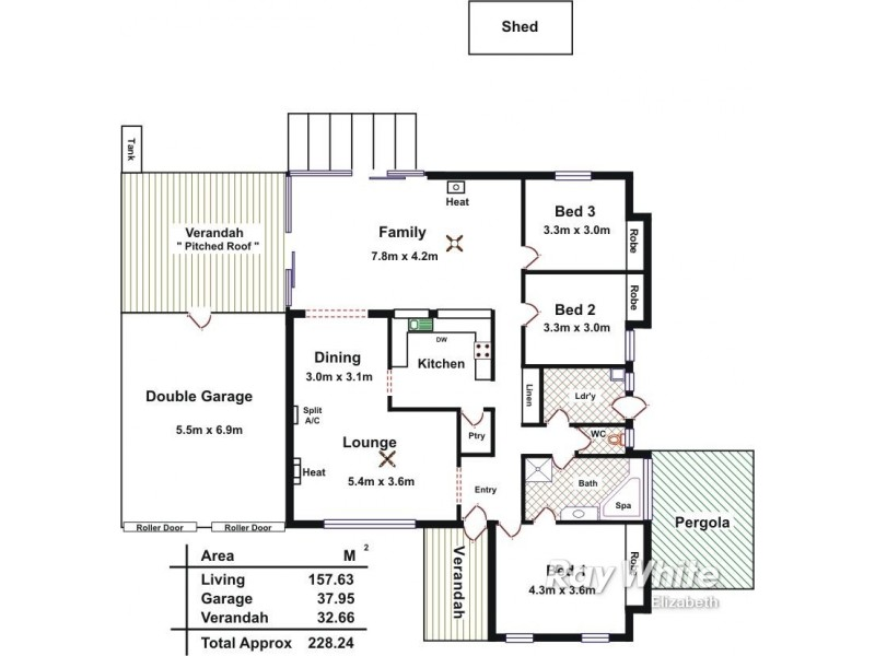 15 Vitana Court, Craigmore SA 5114 Floorplan