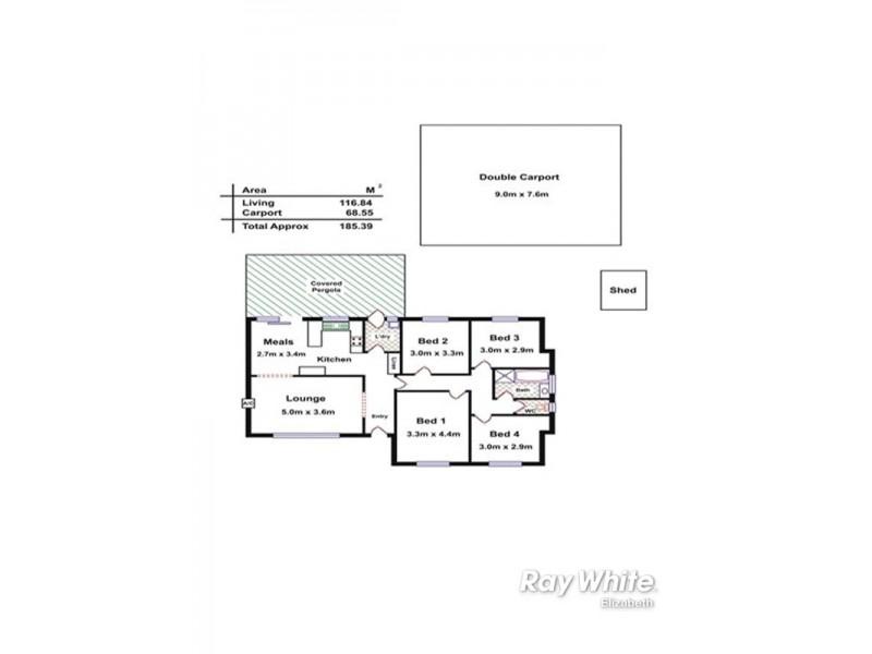 2 Banksia Crescent, Craigmore SA 5114 Floorplan