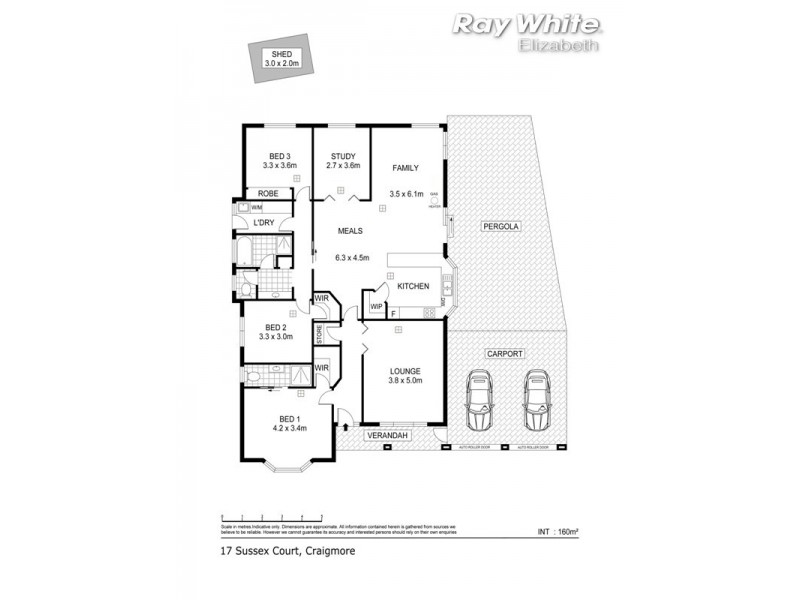 17 Sussex Court, Craigmore SA 5114 Floorplan