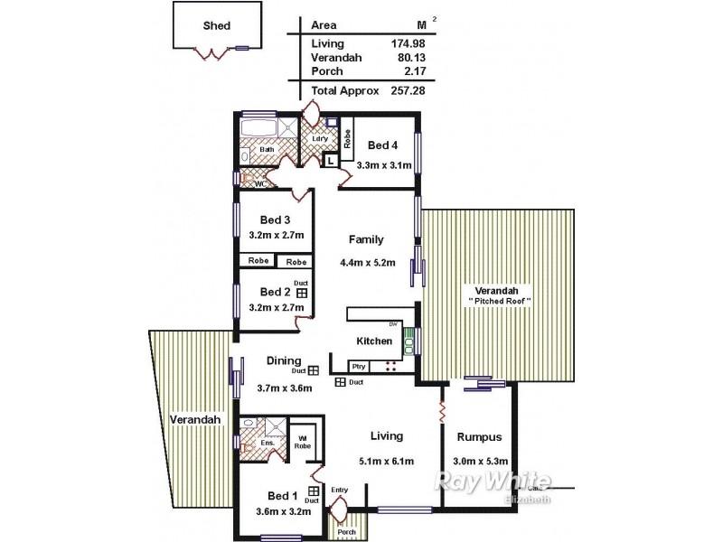 43 Jacaranda Drive, Craigmore SA 5114 Floorplan
