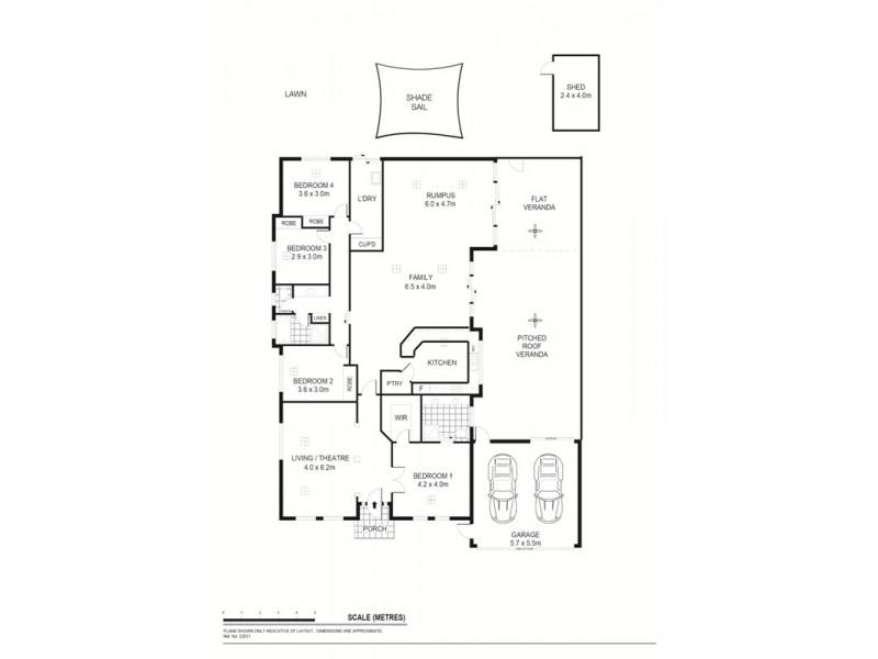 6 Manchester Cct, Craigmore SA 5114 Floorplan