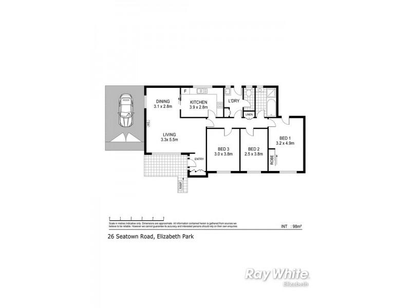 26 Seatown Road, Elizabeth Park SA 5113 Floorplan