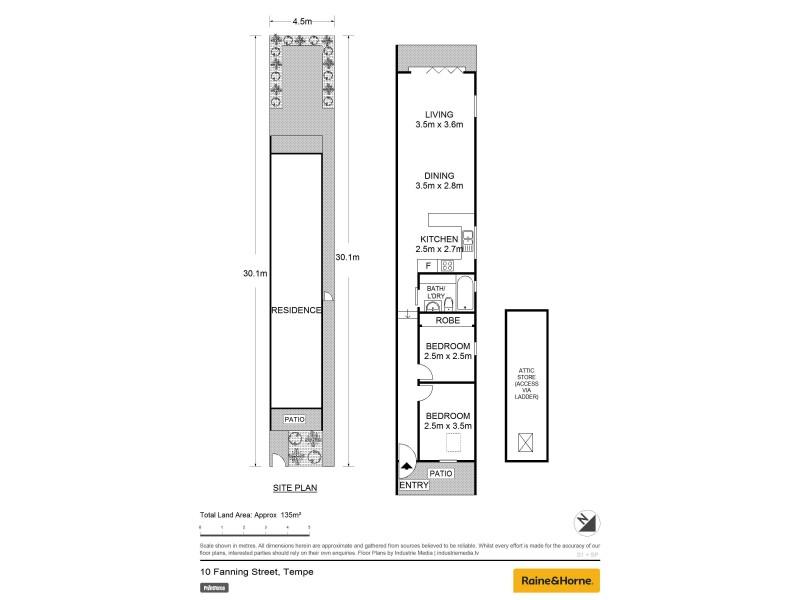 10 Fanning Street, Tempe NSW 2044 Floorplan