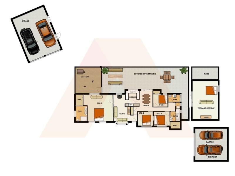 40 Kadlunga Court, Boronia Heights QLD 4124 Floorplan