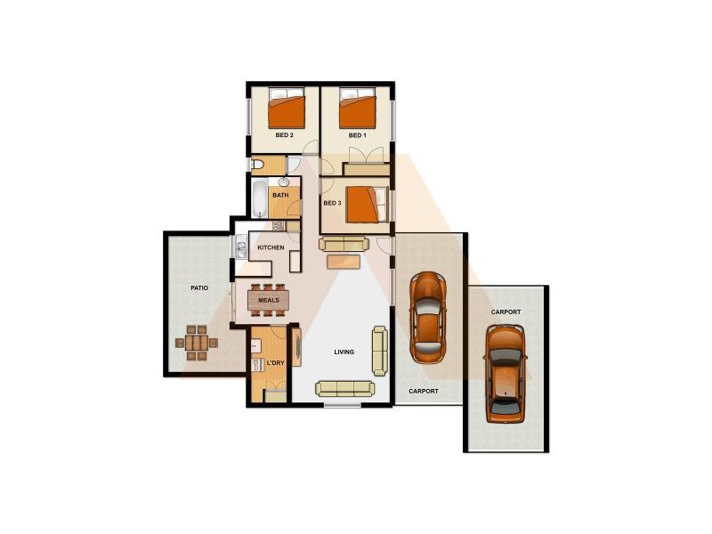 544 Browns Plains Rd, Marsden QLD 4132 Floorplan