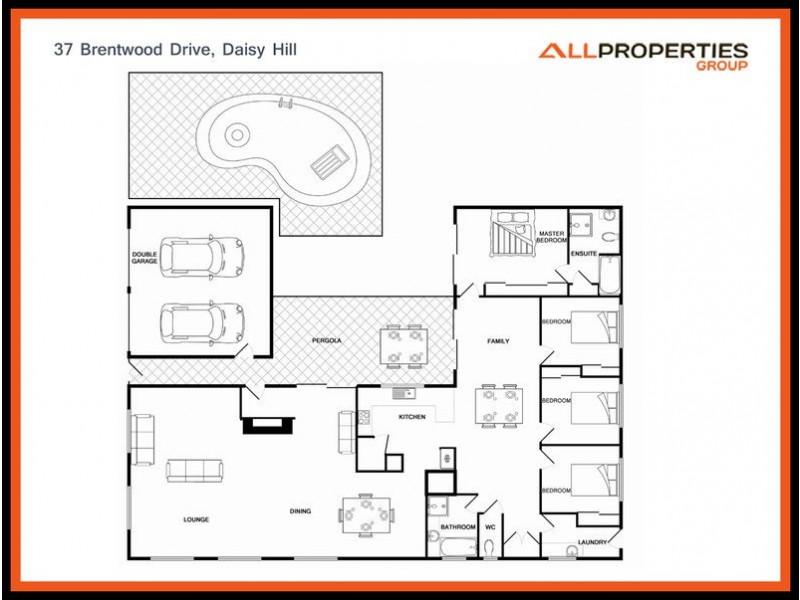37 Brentwood Drive, Daisy Hill QLD 4127 Floorplan