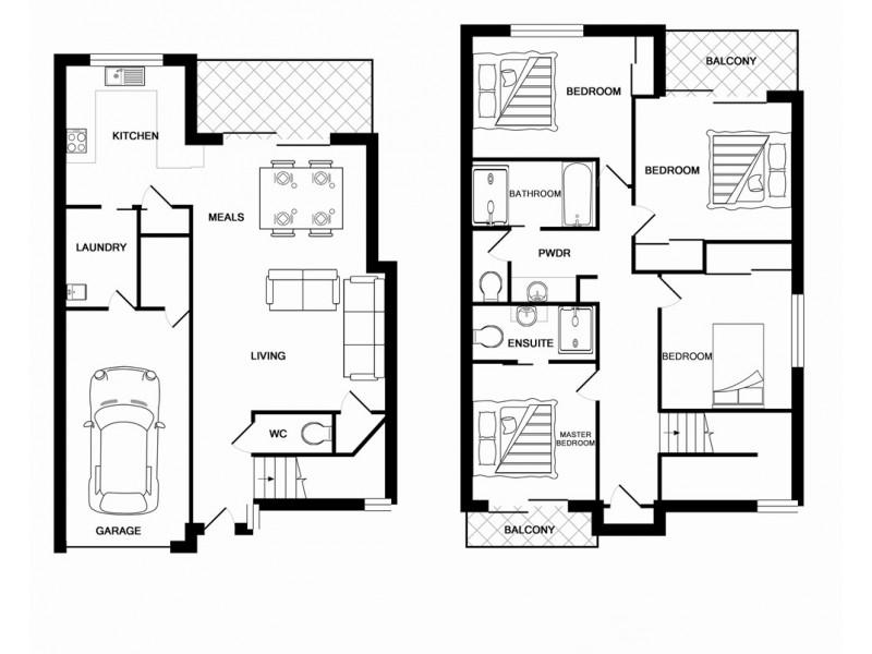 CONTACT AGENT LUCY STREET, Marsden QLD 4132 Floorplan