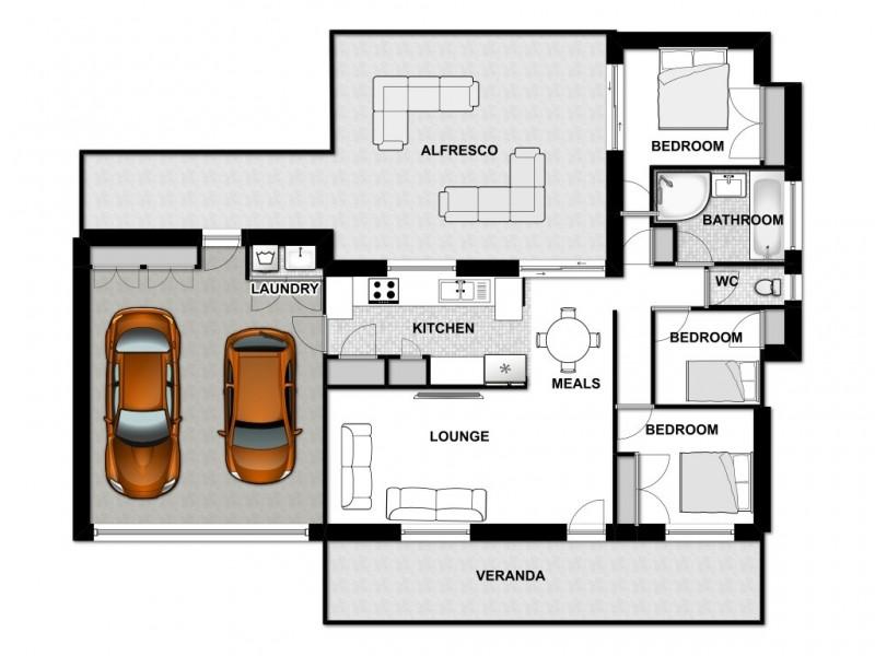 64 Tinaroo St, Durack QLD 4077 Floorplan