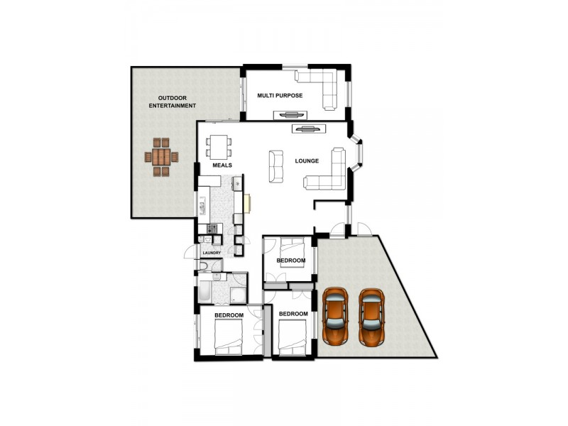 7 LANGHAM STREET, Hillcrest QLD 4118 Floorplan