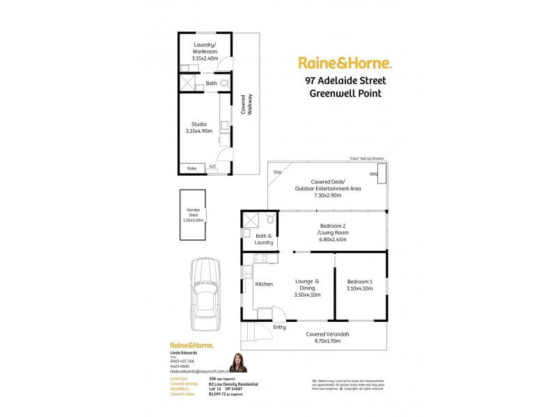 97 Adelaide Street, Greenwell Point NSW 2540 Floorplan
