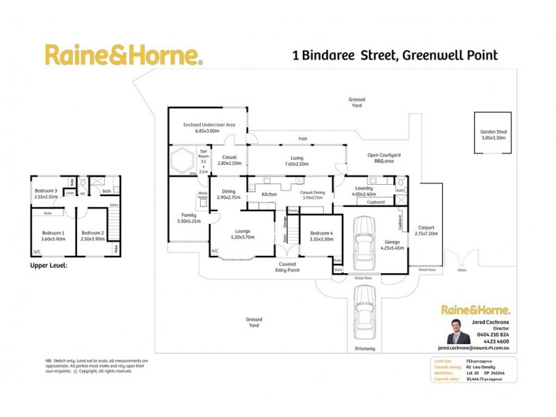 1 Bindaree Street, Greenwell Point NSW 2540 Floorplan