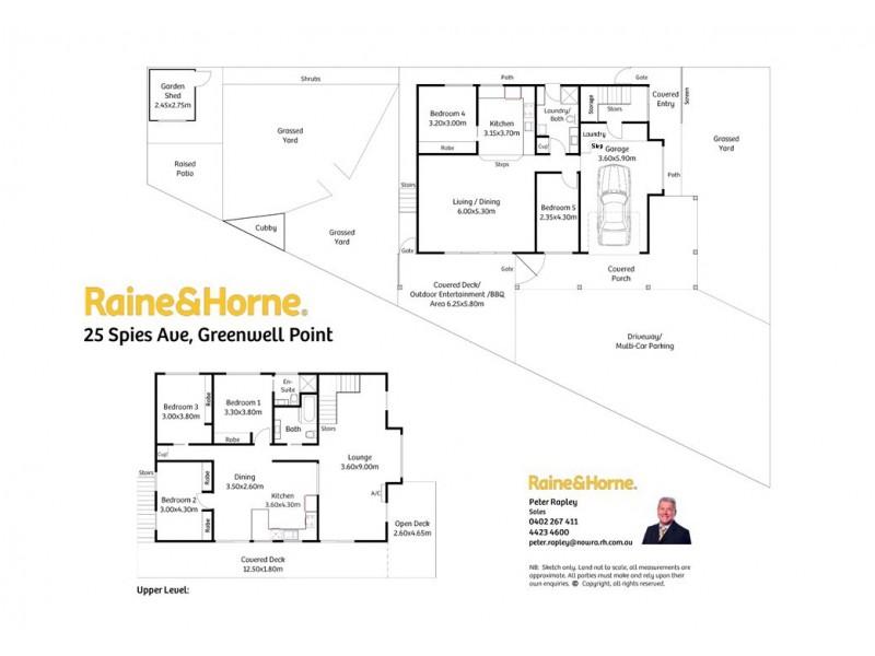 FLAT 25 Spies Avenue, Greenwell Point NSW 2540 Floorplan