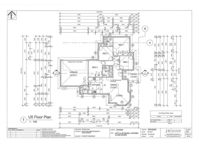 5/4 Dryden Close, Nowra NSW 2541 Floorplan