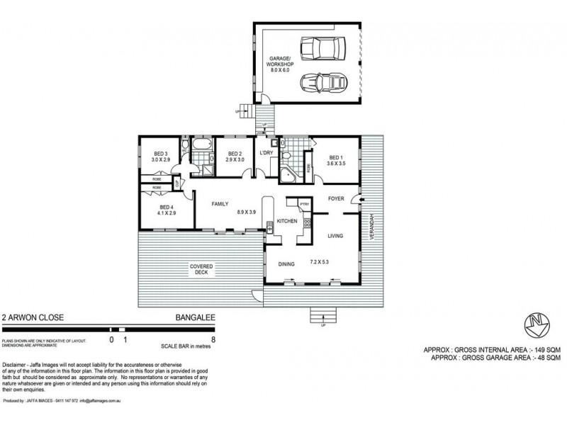 2 Arwon Close, Bangalee NSW 2541 Floorplan