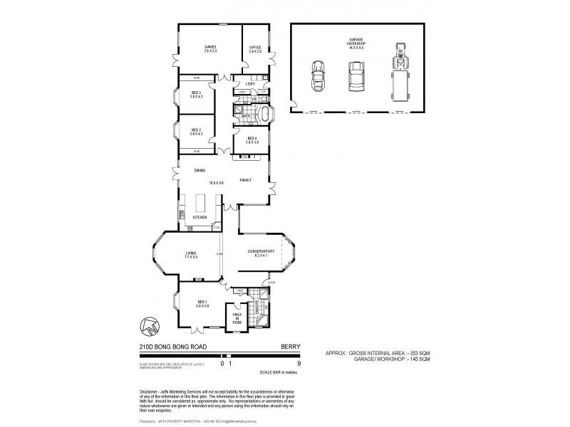 210D Bong Bong Road, Berry NSW 2535 Floorplan