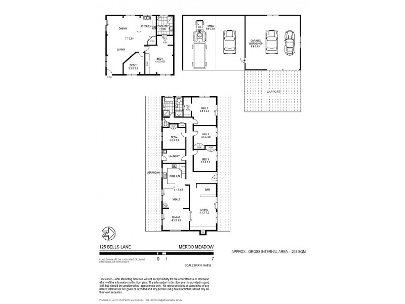 125 Bells Lane, Cambewarra NSW 2540 Floorplan