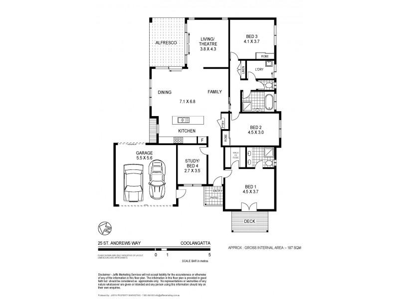 25 St Andrews Way, Coolangatta NSW 2535 Floorplan