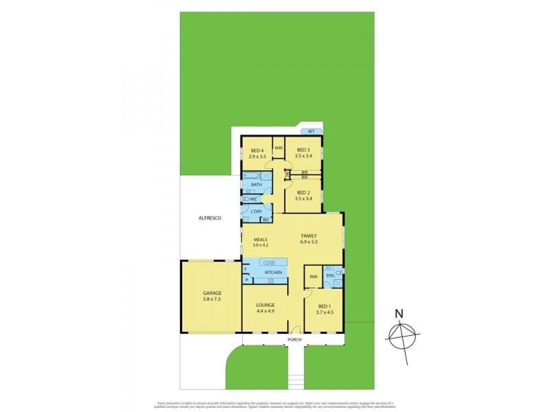 64 Darriwell Drive, Bannockburn VIC 3331 Floorplan