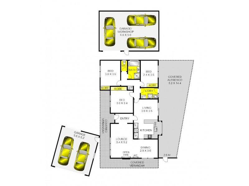 45 McClelland Avenue, Lara VIC 3212 Floorplan