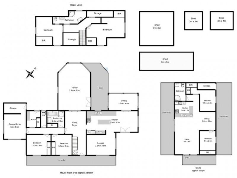 37 Saxon Drive, Acton Park TAS 7170 Floorplan