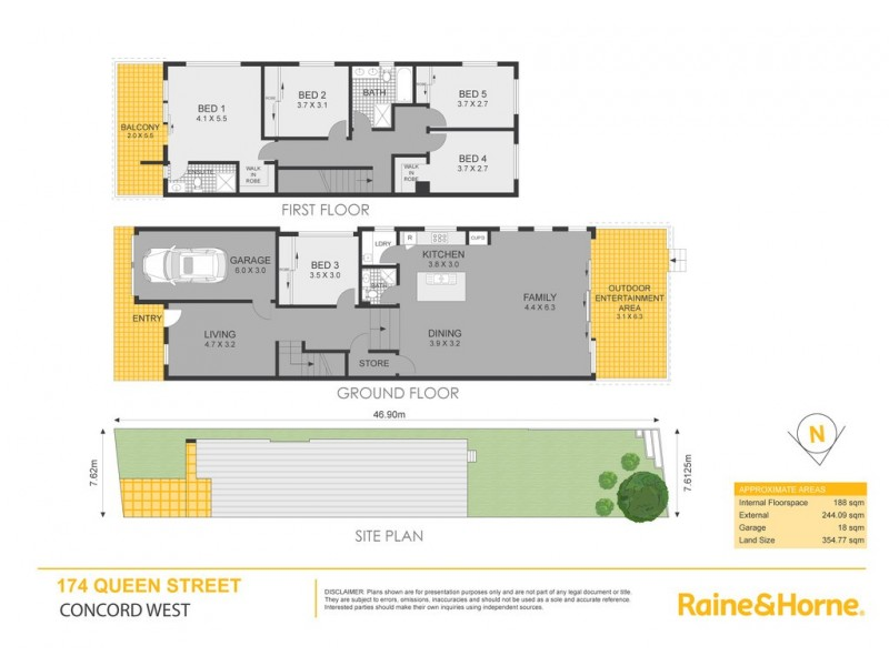 174 Queen Street, Concord West NSW 2138 Floorplan
