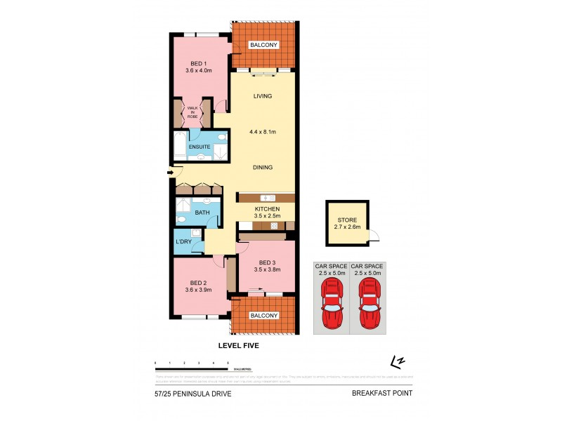 57/23-25 Peninsula Drive, Breakfast Point NSW 2137 Floorplan