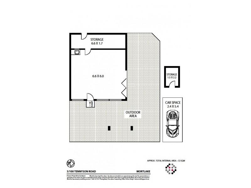 Shop 2 and 3 100 Tennyson Road, Mortlake NSW 2137 Floorplan