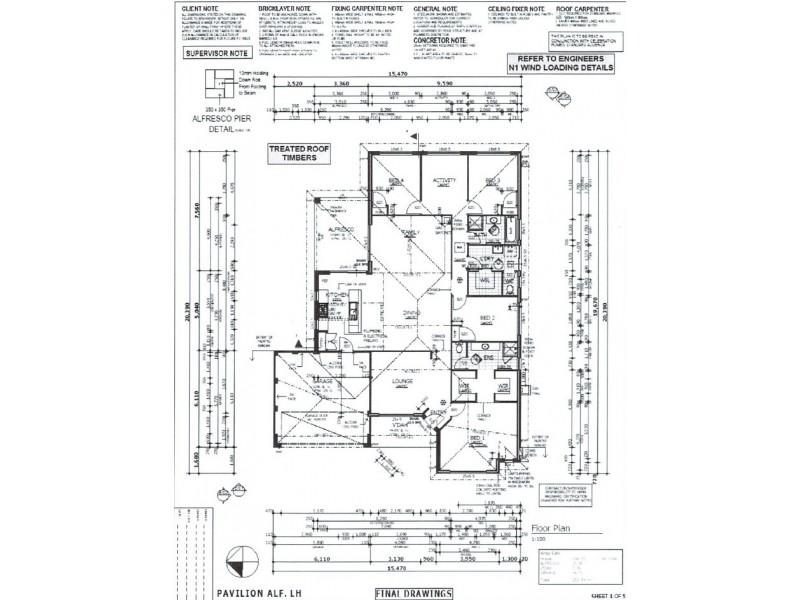 16 Plumeria Rise, Sinagra WA 6065 Floorplan