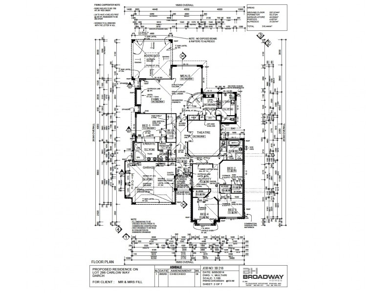 43 Carlow Way, Darch WA 6065 Floorplan