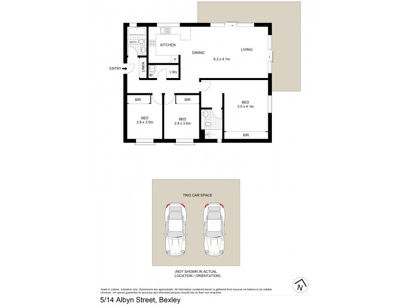 5/14-16 Albyn Street, Bexley NSW 2207 Floorplan