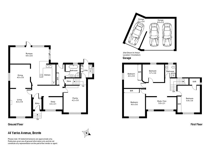 44 Yanko Avenue, Bronte NSW 2024 Floorplan