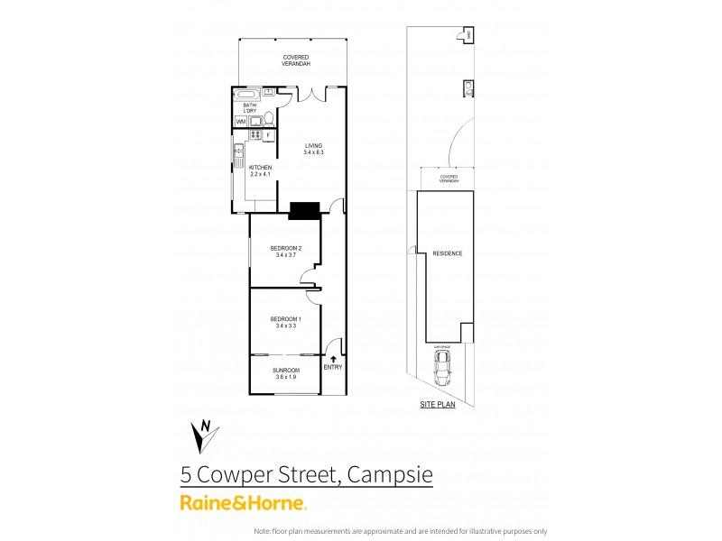5 Cowper Street, Campsie NSW 2194 Floorplan