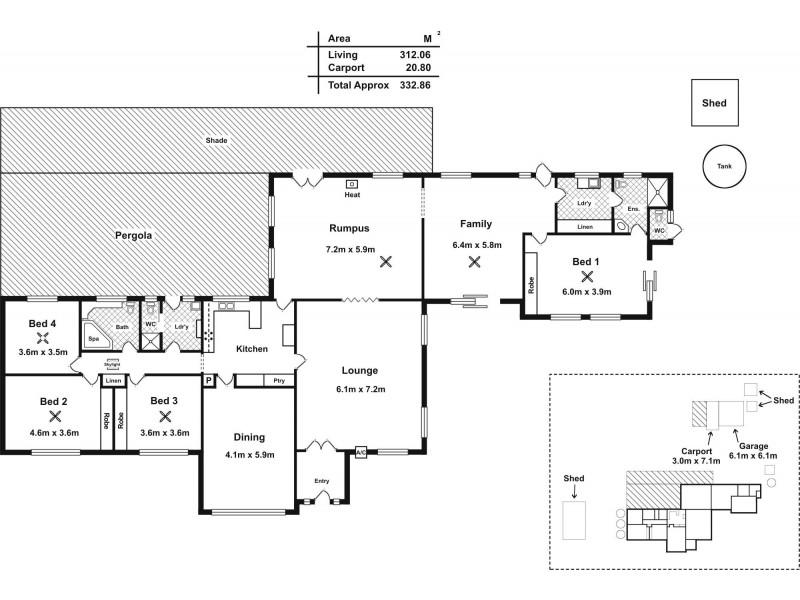 28 Craven Road, Mclaren Vale SA 5171 Floorplan