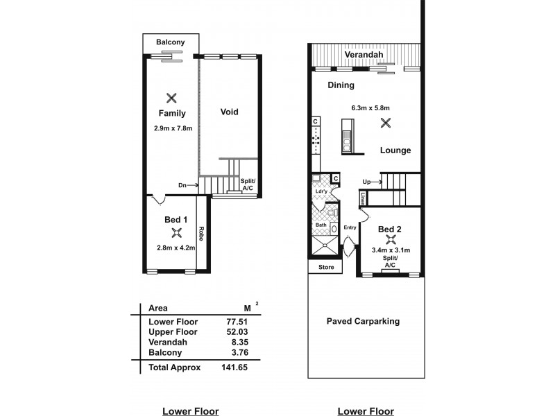 1 Tetragonia Walk, Aldinga SA 5173 Floorplan