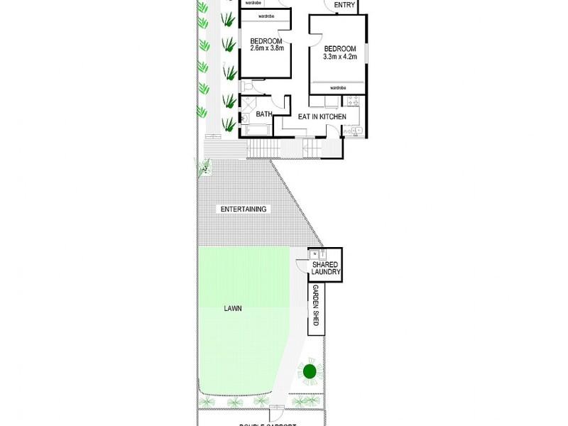 2/23 Lower Beach Street, Balgowlah NSW 2093 Floorplan