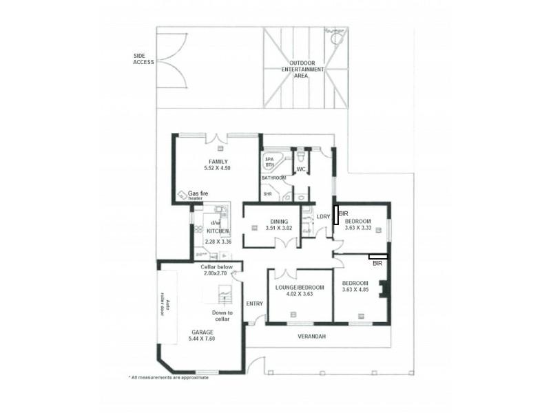 52 Gordon Street, Albert Park SA 5014 Floorplan