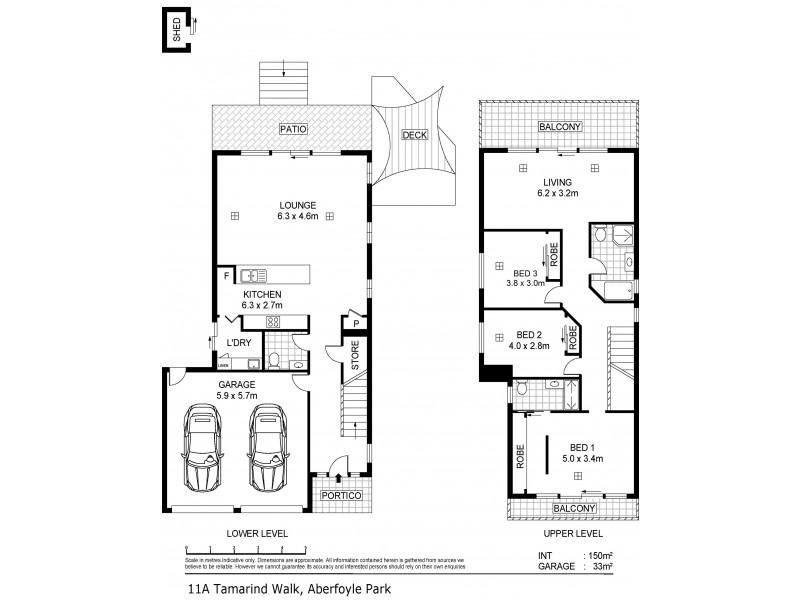 11A Tamarind Walk, Aberfoyle Park SA 5159 Floorplan