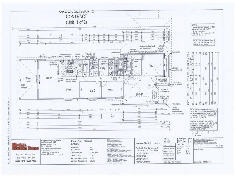 Lot 135 6 Barham Street, Allenby Gardens SA 5009
