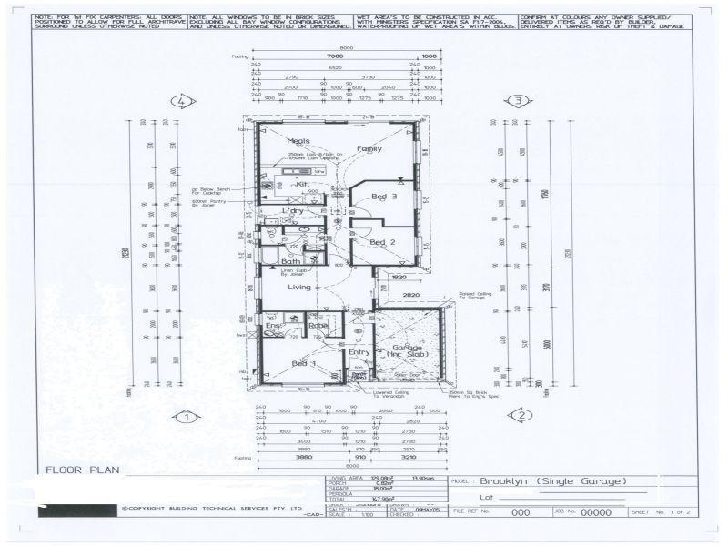 Lot 135 6 Barham Street, Allenby Gardens SA 5009 Floorplan