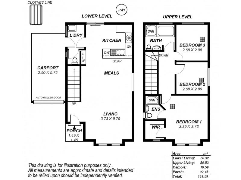 2, 46B York Terrace, Salisbury SA 5108 Floorplan