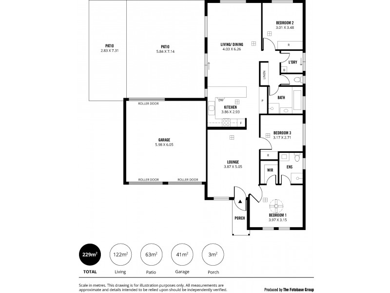 21 Lakeside Drive, Andrews Farm SA 5114 Floorplan